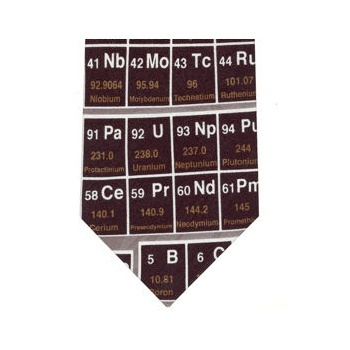 11 best periodic table variations images on pinterest periodic periodic table tie is surely a staple item for any self respecting chemist urtaz Images