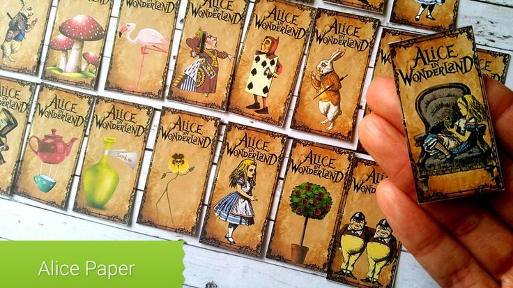 24xAlice in the wonderland paper ephemera,scrapbook,Tea Party Theme Favour Tags in Crafts, Scrapbooking & Paper Crafts, Scrapbooking | eBay!