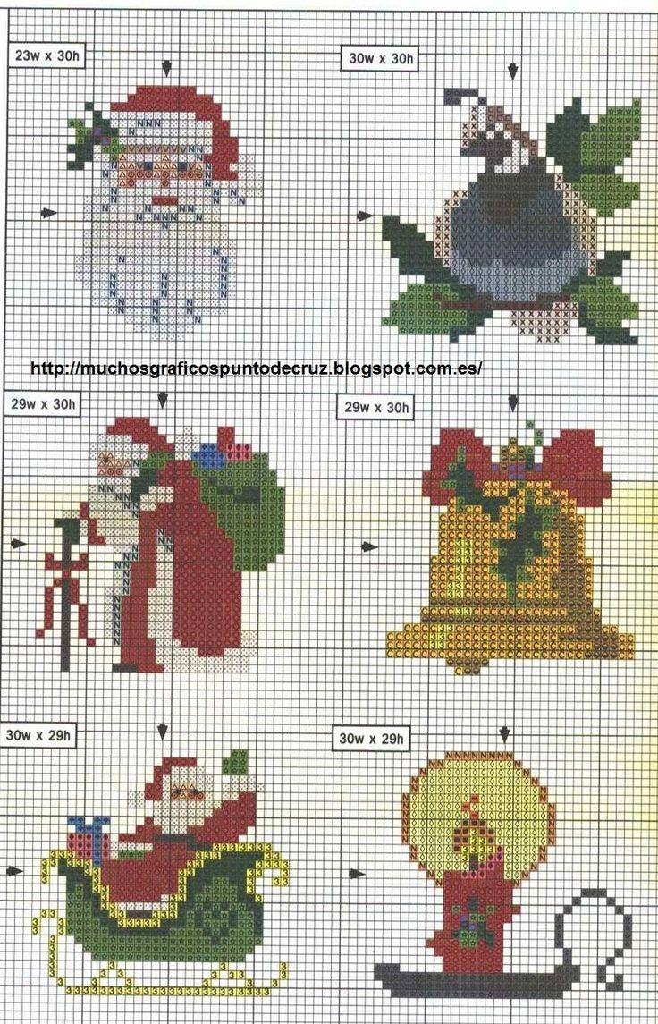 Atractivo Modelos Ornamento De Navidad De Punto Modelo - Manta de ...