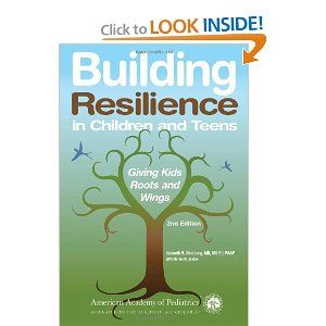 I heard  Dr. Ginsburg speak at the Roslyn JCC,and he had interesting things to say about raising healthy children and teens. Building Resilience in Children and Teens is one of his books.