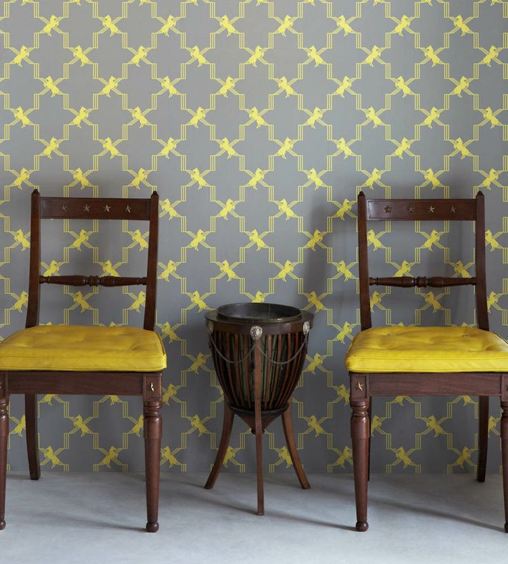 Design Classic | Retro | Horse Trellis Wallpaper by Barneby Gates | Jane Clayton