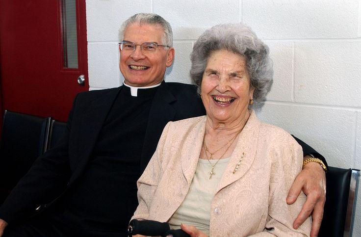 https://flic.kr/s/aHsjjf3jib | Father Roger's 40th - Photos by Tim McKenna.