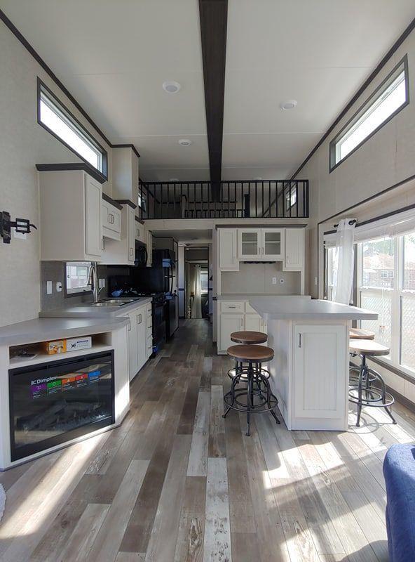 2019 Woodland Park Timber Ridge 252 Park Models Rv For Sale In Spokane Washington Rvt Com 26 Best Tiny House Tiny House Interior Design Modern Tiny House