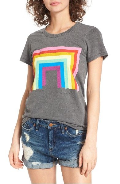 Main Image - Junk Food Donald Robertson Rainbow Tee