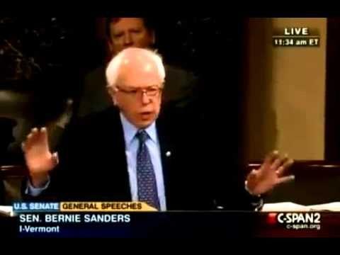 Senator Bernie Sanders, I Dare You To Comprehend This Speech! Jaw Droppi...