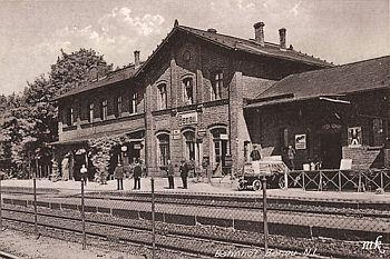 Stacja Benau około 1930 r.