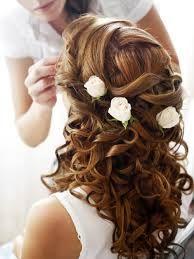 kapsels bruidsmeisje