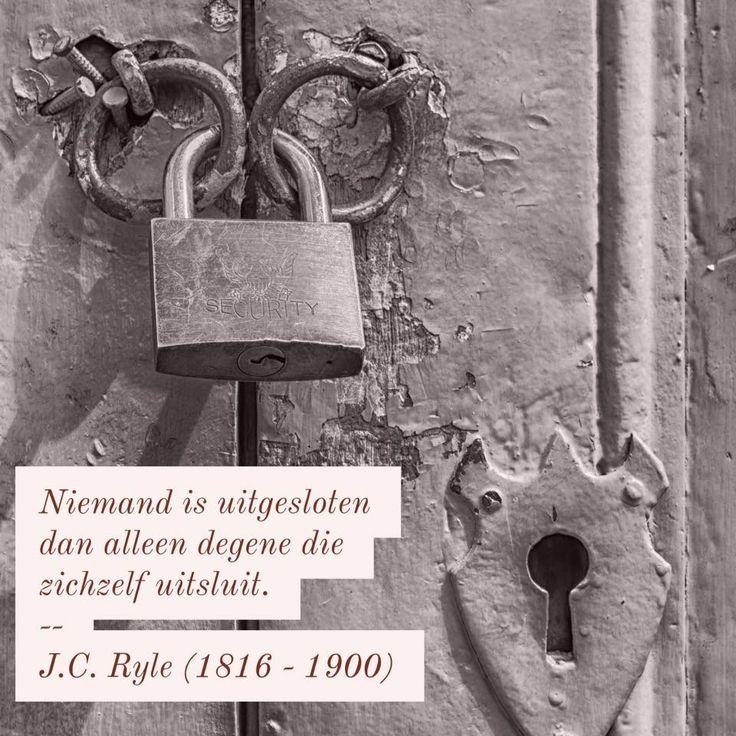 Uitsluitend - J.C. Ryle (1816 – 1900)
