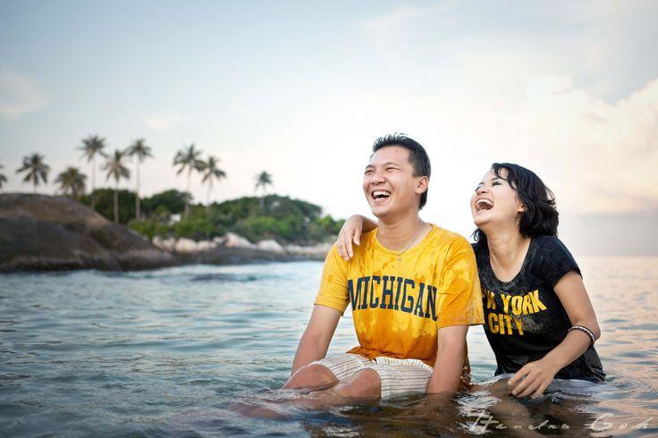 Bangka, Indonesia. Prewedding and Wedding Photoshoot by Hendra Goh contact us for photoshoot : katarinadyta@gmail.com