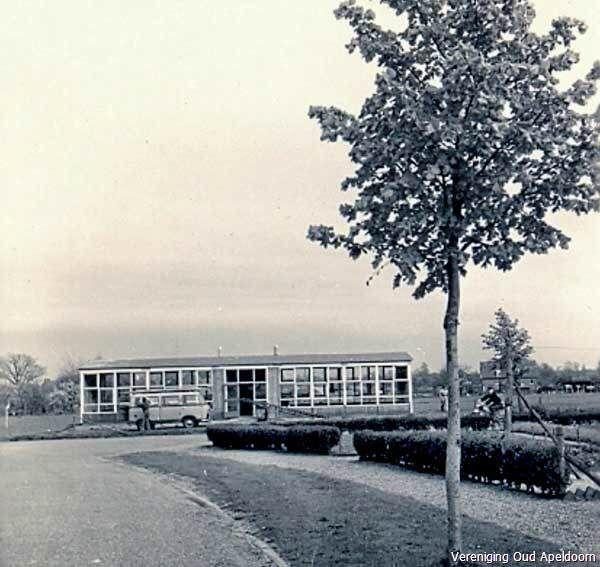 1959 Noodlokaal kleuterschool de Kempe