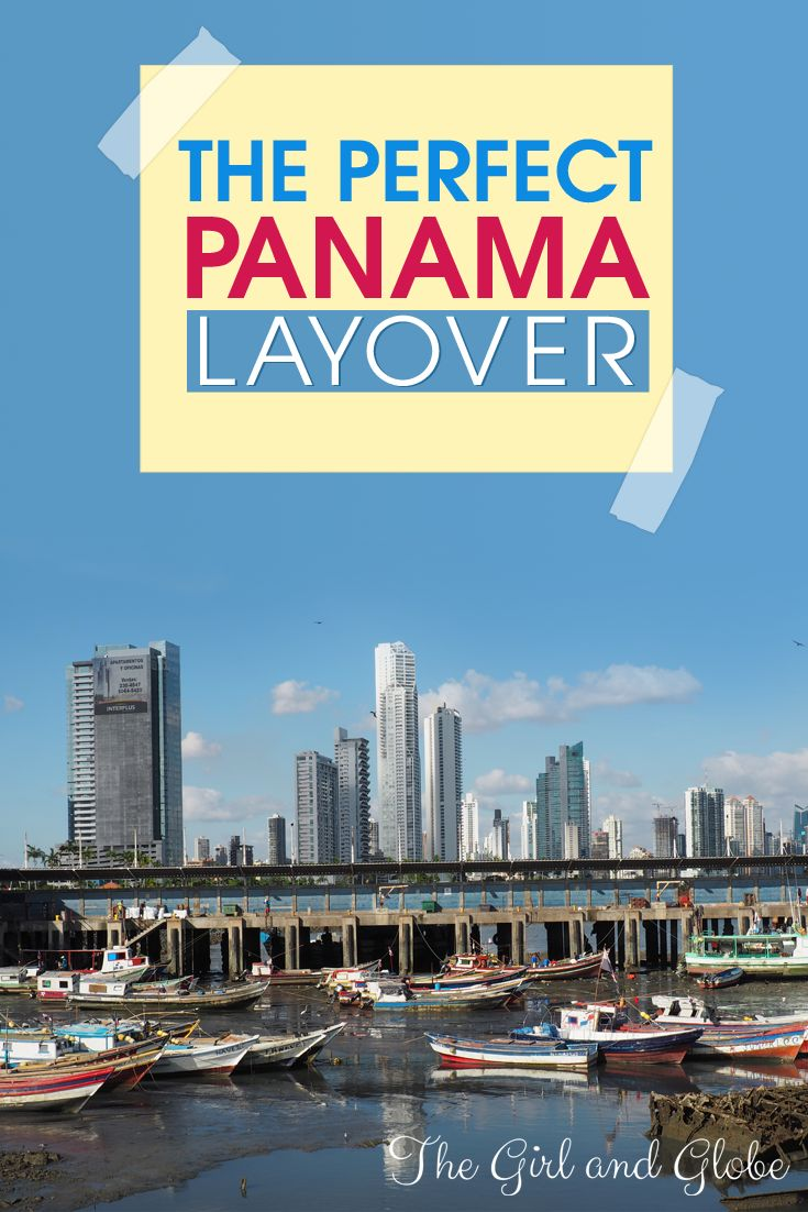 Spending 6+ hours in Panama City? Use this guide for one day in Panama City to see the canal, Casco Viejo (Old Town), and a bit of the rainforest!