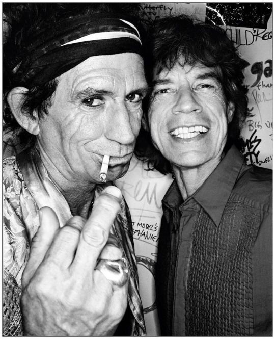 Keith Richards & Mick Jagger