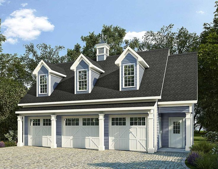 20 Traditional Architecture Inspired Detached Garages | Detached ...