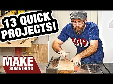 13 Деревообработка проекты Вы можете сделать как рождественские подарки!  - YouTube