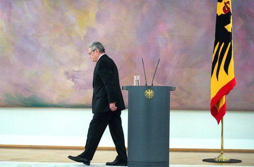 Wer folgt Joachim Gauck, wenn er im Februar geht? Im Gespräch sind bekannte Namen – und ein Geheimtipp. Foto: dpa
