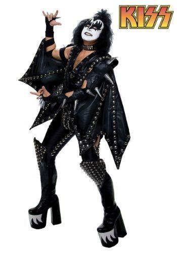 Who remembers KISS?!?!!  Authentic Gene Simmons Demon Costume  #Halloween #Costumes #HalloweenCostumesForFamily Sherman Financial Group