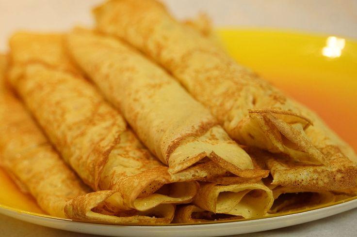 Voici ma recette de pâte à crêpes à tomber !  + Savoureuses, parfumées et moelleuses... Cette recette a été adoptée par des milliers d'internautes, essayez-la