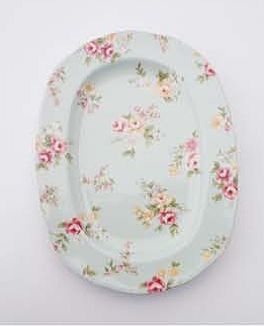 Liberty Small Oval Plate