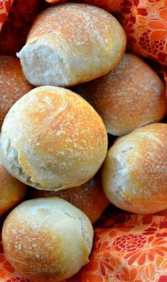 French Bread Dinner Rolls- Serenabakessimplyfromscratch.com #appetiser #holiday