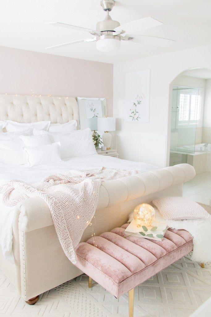 Luxurious Master Bedroom Refresh Bedroom Interior Luxury Bedroom Master Glam Master Bedroom
