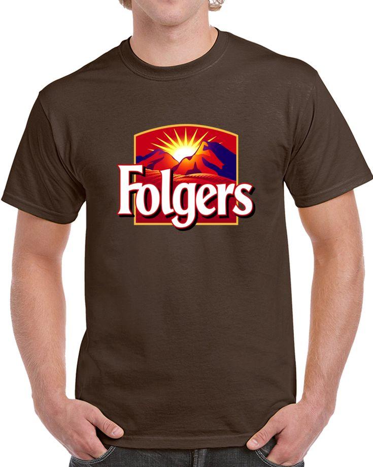 Folgers Logo  T Shirt