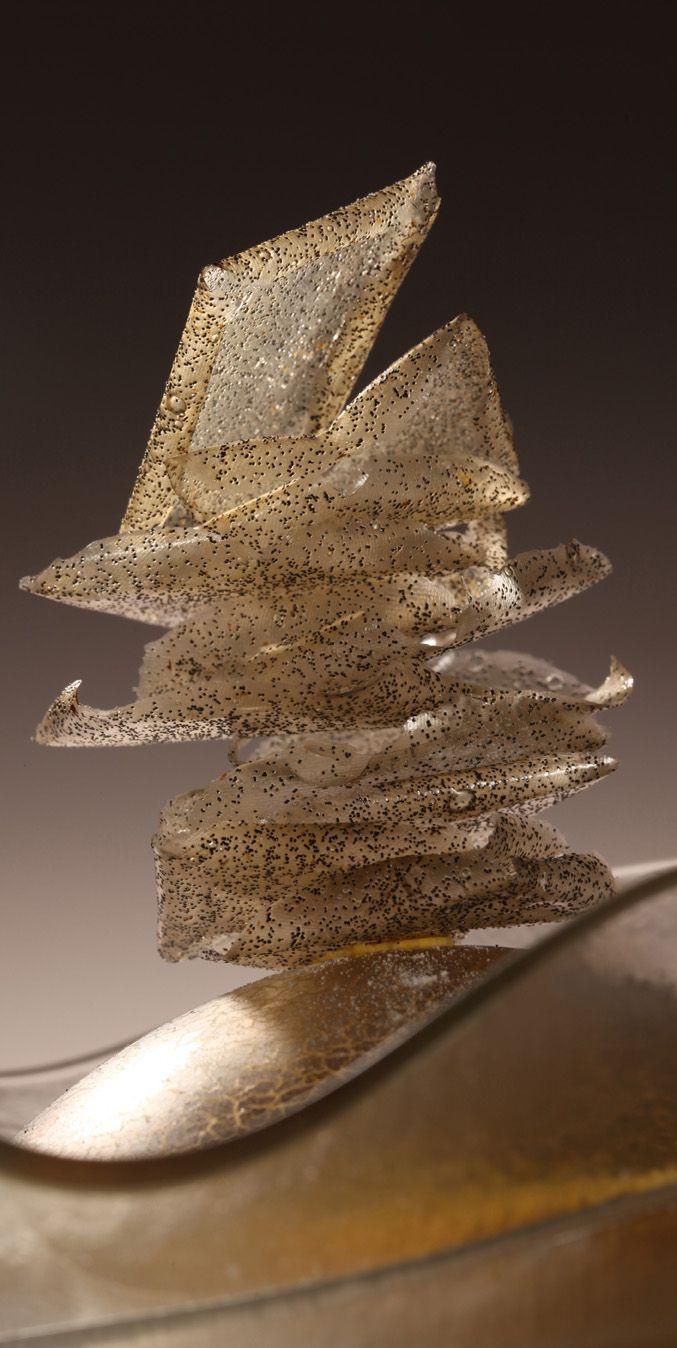 Vanilla chips created by El Bulli