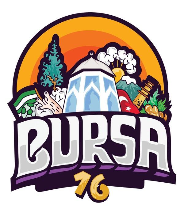 Illustration of my home town ''Bursa'' by Ilker Ture, via Behance