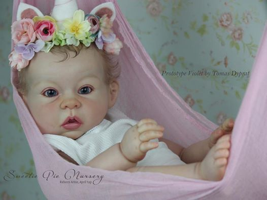 Violet by Tomas Duprat - Pre-Order - Online Store - City of Reborn Angels Supplier of Reborn Doll Kits and Supplies