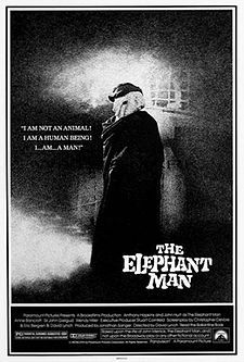 The Elephant Man- Starring: Anthony Hopkins and John Hurt (October 10, 1980)