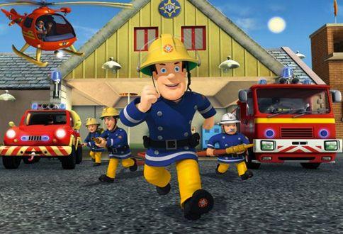 Dobrodružstvá a príbehy zo života požiarnika Sama a jeho kamarátov z mestečka Pontypandy. Pozrite si animovanú rozprávku Požiarnik Sam online…