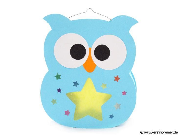 Eulen Laterne für den Schneideplotter ♥ von kerstinbremer.de. So awesome! Owl…