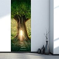 Landscape+Wall+Stickers+3D+Wall+Stickers+Decorative+Wall+Stickers,Plastic+Material+Home+Decoration+Wall+Decal+–+AUD+$+45.20