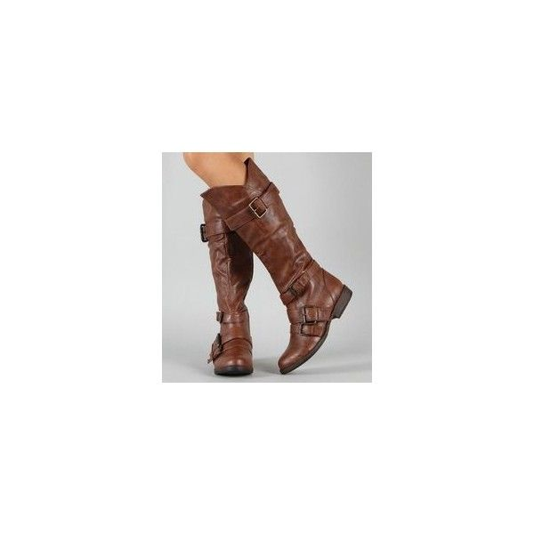 Knee High Flat Boots ❤ liked on Polyvore featuring shoes, boots, flat knee boots, knee high boots, knee length boots, flat knee high boots and knee boots