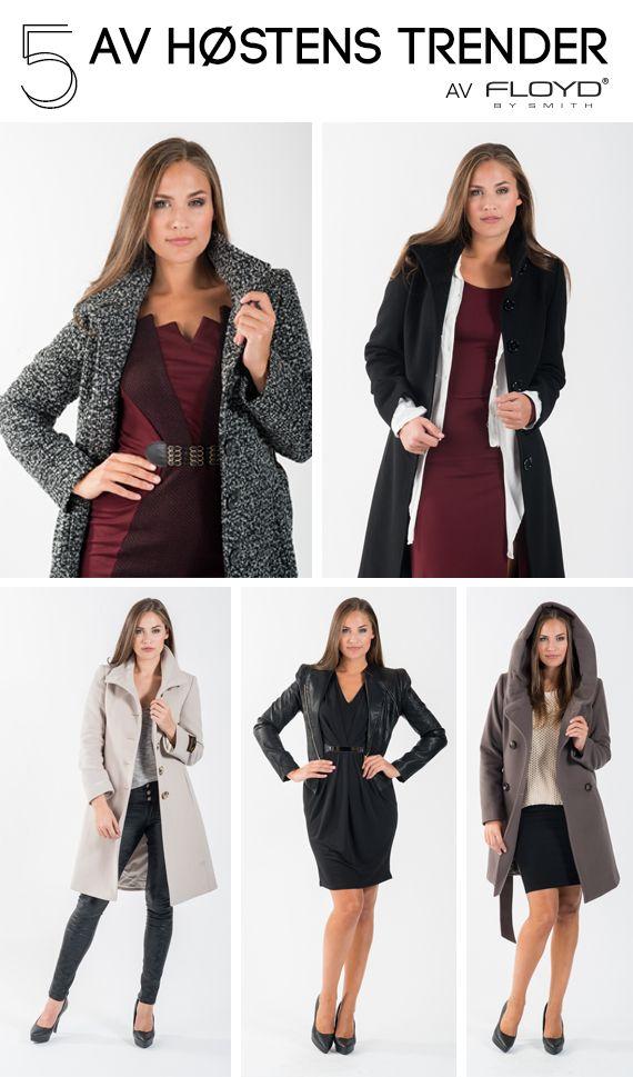 Få stilen: høstens hotteste trendretninger - teksturer, grunge, skinnlook, lady look og oversized.