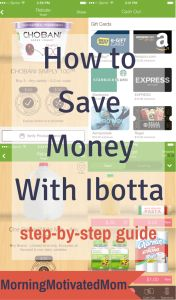 How to Save Money with Ibotta - A Top Money Saving App. Here is a Step-By-Step Guide. I will show the saving potential of ibotta and give you tips on how to best use it. I saved $298.00 in less than 16 months with Ibotta.