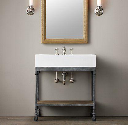 Inspirational Wohnen Haus Badezimmer Badezimmer Ideen Badezimmer Wandlampen Badezimmer Im Erdgeschoss Modernes Badezimmer Architektur Halle Vanity Sink