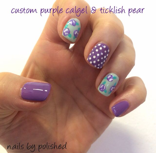 65 Best Calgel Nails By Polished Images On Pinterest Calgel Nails