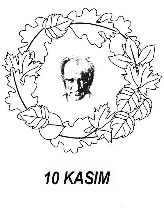 10 Kasim Ataturk U Anma Haftasi Etkinlikleri Boyama Sayfalari