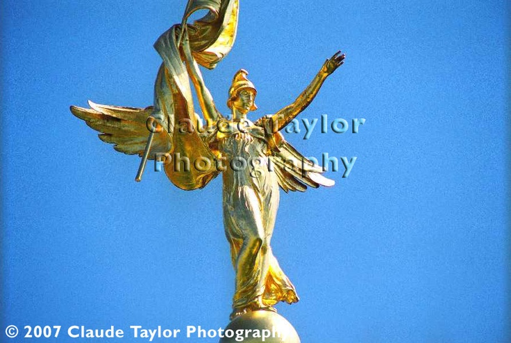 Gold StatueTaylors Photography, Washington Dc, Dc Click, Enlarging View, Claude Taylors, Gold Statues