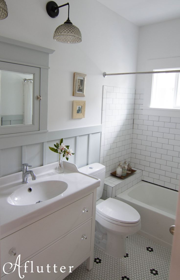 Ok ok. I'm doing this. I'm ready. Well, I think so… Let me first admit that I have no idea what sort of words should accompany this bathroom reveal post, because I know you just …