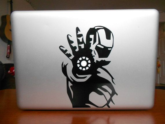 Ironman-Macbook decals Snoopy and woodstock Macbook Decal sticker/ Macbook Sticker / Laptop Decal