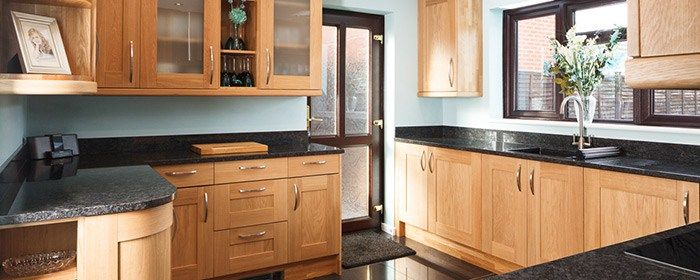 Real Oak Solid Wood Kitchen Units & Cabinets – Solid Wood Kitchen Cabinets #kitchen #color #schemes http://kitchens.remmont.com/real-oak-solid-wood-kitchen-units-cabinets-solid-wood-kitchen-cabinets-kitchen-color-schemes/  #oak kitchen cabinets # Easy to orderonline UK Deliverywithin 10 days Price Quality Comparison Kitchen Planning Advice KitchenGallery MoreInfo rmation OurShowrooms SOLID WOOD KITCHEN CABINETS With Solid Wood Kitchen Cabinets, you can enjoy your kitchen, your way: choose…