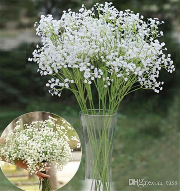 neu kommen atem künstliche gefälschte seide-Blumen-Anlage heim hochzeitsdekoration freies