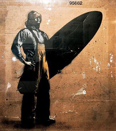 Foto: • ARTIST . PØBEL • ◦ Radioactive Surfer ◦