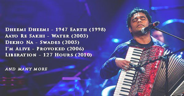 SW - 35 Underrated Compositions of AR Rahman