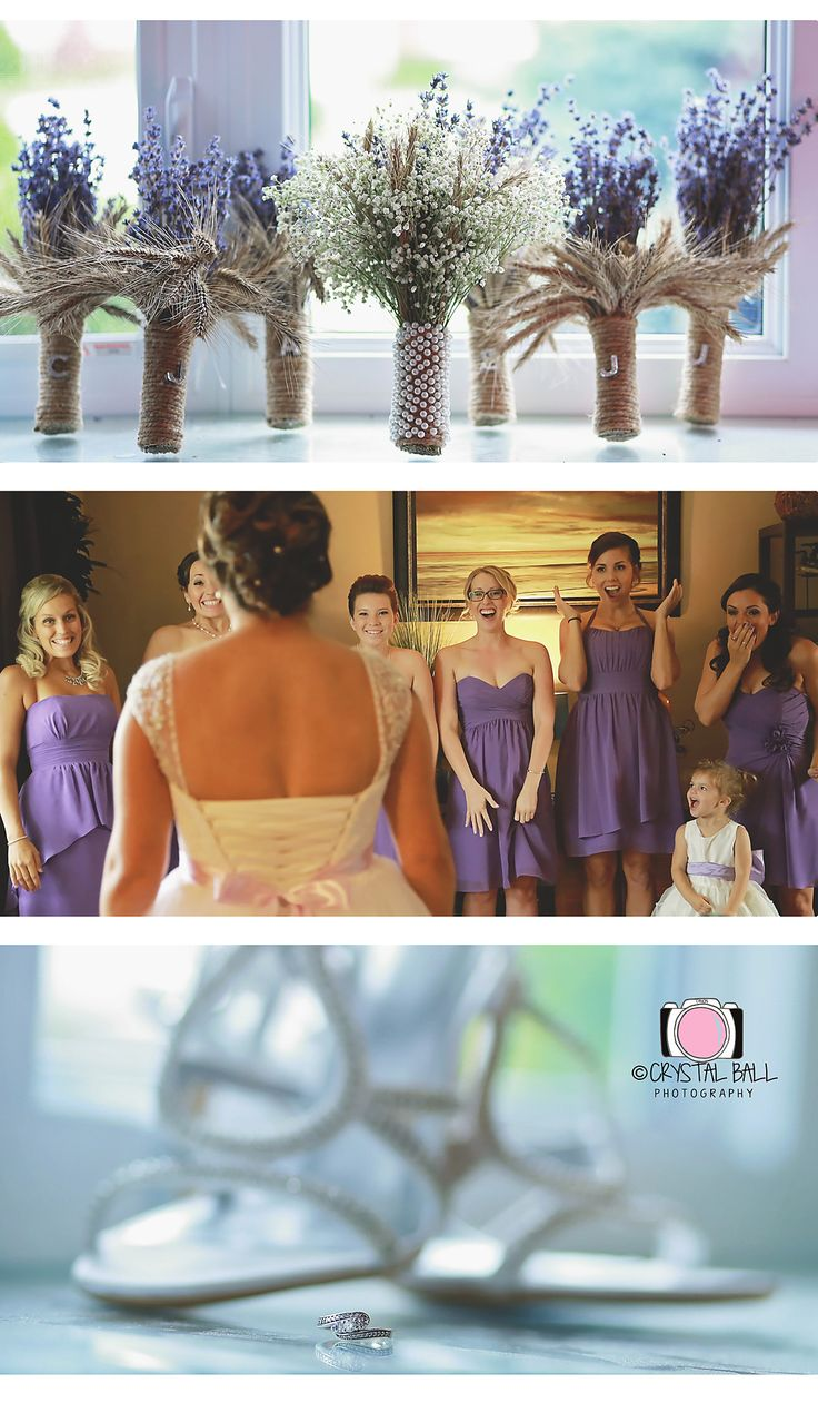 Its all about the bride and her bridesmaids♥
