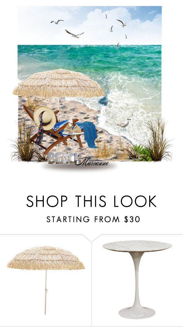 """Beach"" by marianne-spiessens on Polyvore featuring interior, interiors, interior design, home, home decor, interior decorating, Baxton Studio and Graham & Brown"