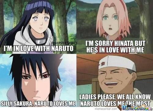 It would be one hell of a twist if Naruto ended up with the Ramen guy XD~~~~I ship it