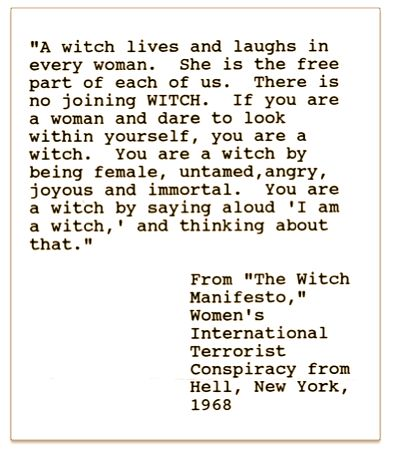 funny witch quotes | ... great deal of gauzy fabric, I pinned this quote to my bedroom wall
