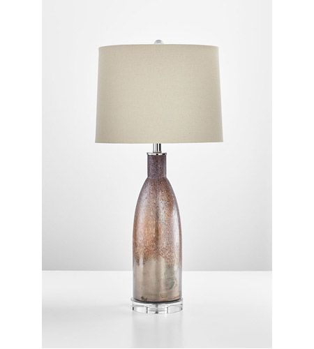 Cyan Design 08526-1 Bernardin 32 inch 14 watt Brown Table Lamp Portable Light